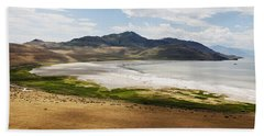 Hand Towel featuring the photograph Antelope Island by Belinda Greb