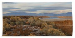 Hand Towel featuring the photograph Antelope Island - Scenic View by Ely Arsha