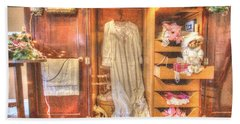 Antique Armoire Bath Towel