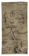 Antique Dental Chair Patent Hand Towel