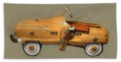 Antique Pedal Car L Bath Towel