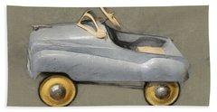 Antique Pedal Car Ll Bath Towel