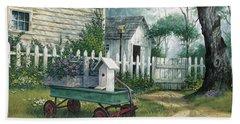 Antique Wagon Bath Towel