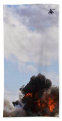 Apache Fire Power Bath Towel