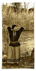 Apache River Maiden Hand Towel