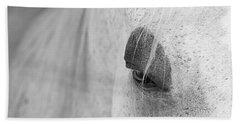 Appaloosa Eye Bath Towel by Mary Lee Dereske