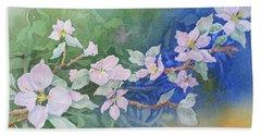 Apple Blossoms 2 Bath Towel by Christine Lathrop