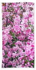 Apple Blossoms Bath Towel