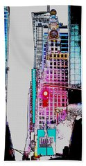 Approaching Times Square Bath Towel