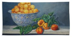 Apricots And Peaches Hand Towel