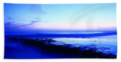 Hand Towel featuring the photograph Swamis Aqua Reef  by John F Tsumas