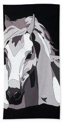 Arabian Horse With Hidden Picture Hand Towel