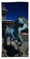 Arabian Horse Sculpture Hand Towel