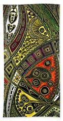 Arabian Nights Hand Towel by Jolanta Anna Karolska