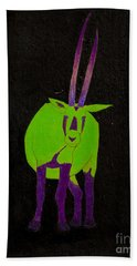 Arabian Oryx Bath Towel