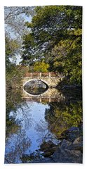 Arboretum Drive Bridge - Madison - Wisconsin Bath Towel