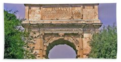 Arch Of Titus Hand Towel