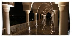 Arches In Abu Dhabi Hand Towel by Debi Demetrion