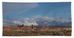 Arches National Monument Utah Hand Towel