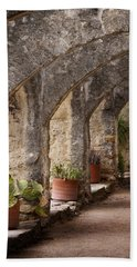 Arches Of San Jose Hand Towel by David and Carol Kelly