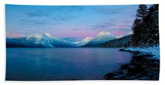 Hand Towel featuring the photograph Arctic Slumber by Aaron Aldrich