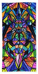 Arcturian Awakening Grid Bath Towel