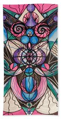 Arcturian Healing Lattice  Bath Towel