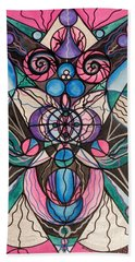 Arcturian Healing Lattice  Hand Towel