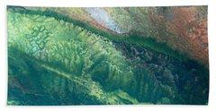 Ariel View Of Venus Bath Towel
