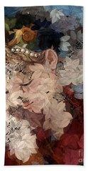 Arika - Des Femmes Et Des Fleurs Bath Towel