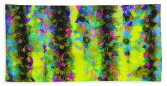 Arizona Abstract I Hand Towel by Marianne Campolongo