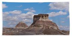Arizona Desert And Mesa Hand Towel by Jeff Goulden