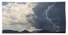 Arizona Desert Lightning  Bath Towel