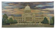 Arkansas State Capitol Hand Towel