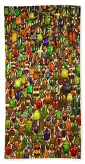 Army Of Beetles And Bugs Bath Towel