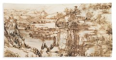 Arno Landscape Bath Towel