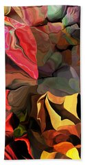 Hand Towel featuring the digital art Arroyo  by David Lane