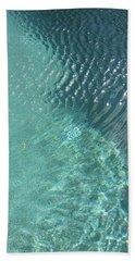 Art Homage David Hockney Swimming Pool Arizona City Arizona 2005 Hand Towel