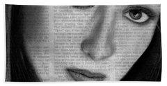 Art In The News 34- Meryl Streep Bath Towel