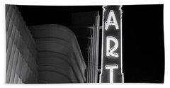 Art Theatre Long Beach Denise Dube Bath Towel