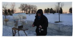 Artist At Work Lake Shore Mississauga On Hand Towel