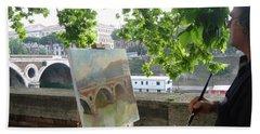Artist At Work Rome Hand Towel