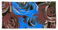Hand Towel featuring the photograph Artistic Roses On Your Wall by Joseph Baril