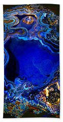 Artists Bisbee Velvet Beauty Azurite Bath Towel