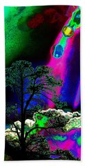 As Evening Fell Hand Towel by Susanne Still