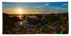 Asilomar Sunset - Monterey Bay Bath Towel
