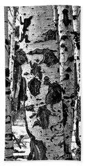 Bath Towel featuring the photograph Aspen Art by Mae Wertz