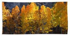 Aspen Gold Hand Towel by Lynn Bauer