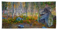 Hand Towel featuring the photograph Aspen Grove by Jim Thompson