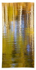Bath Towel featuring the photograph Aspen Reflection by Kevin Desrosiers